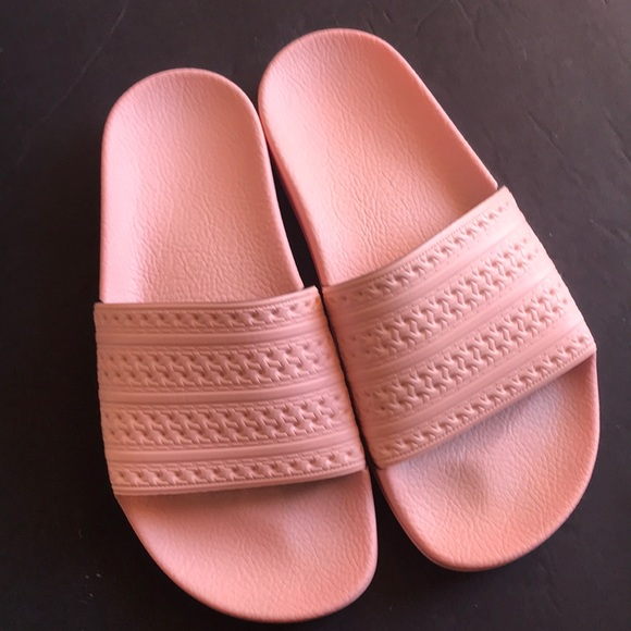 516185a85eae adidas Shoes - Adidas Pink Adilette Slides Women s 5